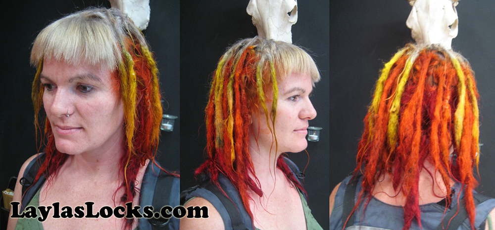 Layla\'s Locks » Dreadlock Coloring