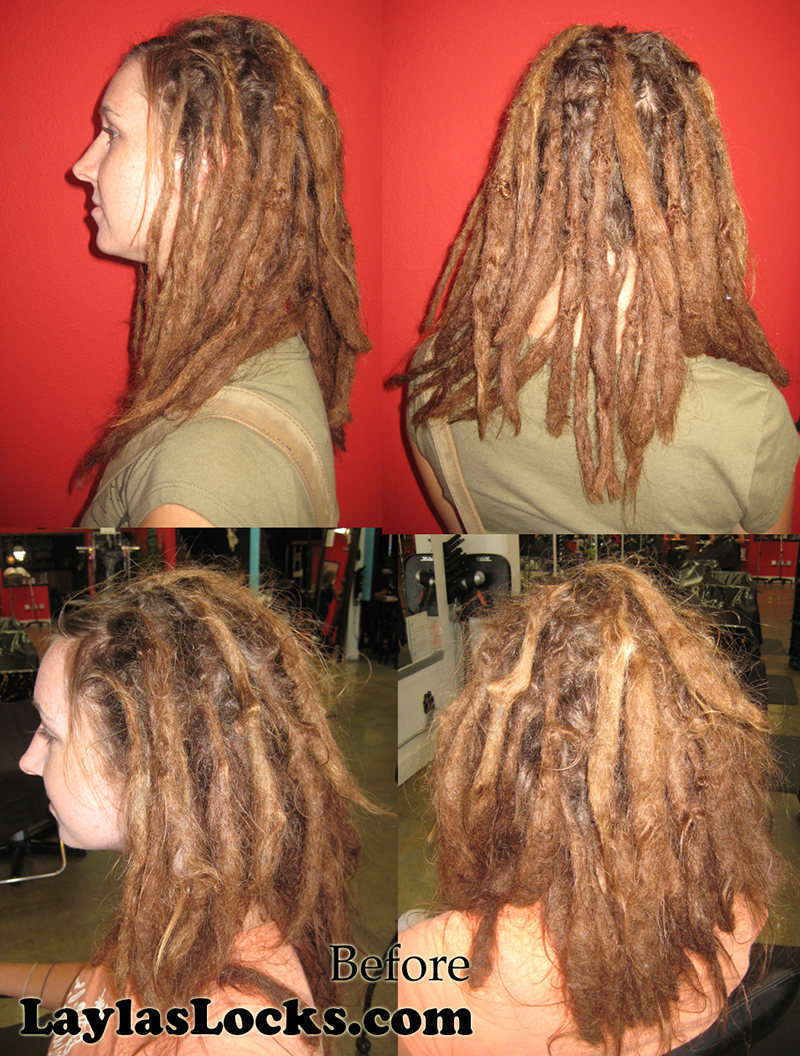 Layla\'s Locks » Dreadlock Maintenance and Restructuring